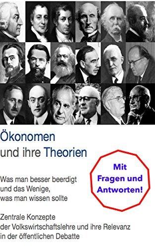 Ökonomen und ihre Theorien: Was man besser beerdigt und das Wenige, was man wissen sollte.